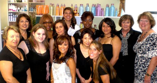 Nika's Hair Studio Ellicott City Maryland Staff
